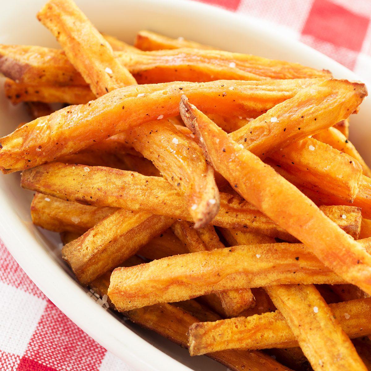 sweet potato fries; Shutterstock ID 307443590; Job (TFH, TOH, RD, BNB, CWM, CM): TOH