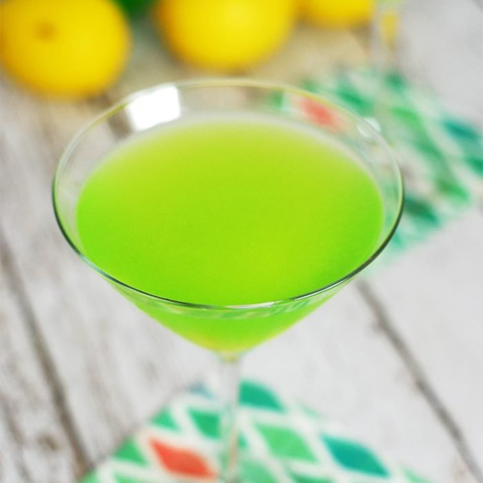 Melon Lychee Martini