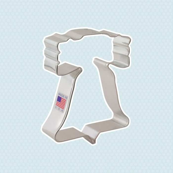 Ann Clark July 4th Liberty Bell Cookie Cutter - 4 Inches - Tin Plated Steel