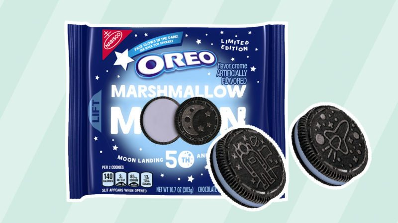 Marshmallow Moon Oreos