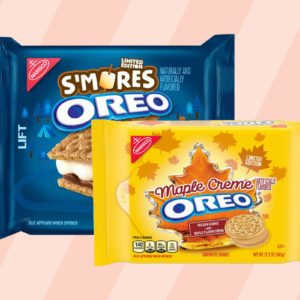 S'more and maple Oreo boxes