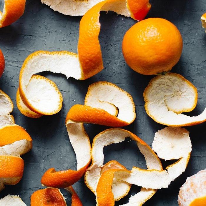 Orange peels