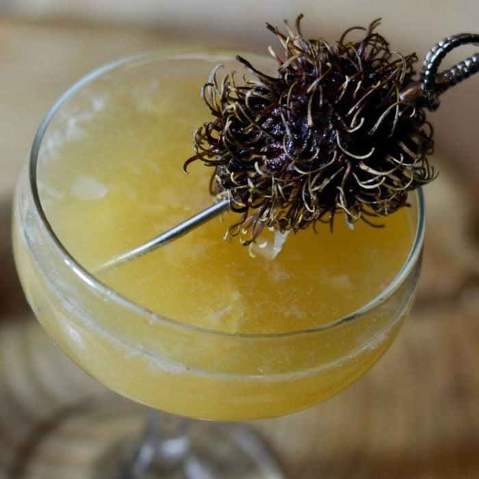 Vanilla Lychee Cocktail
