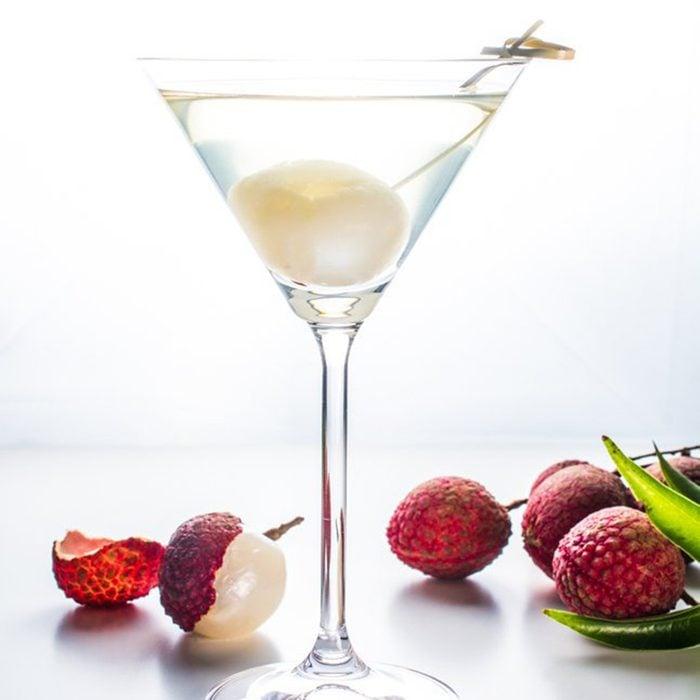 Tropical Lychee Martini