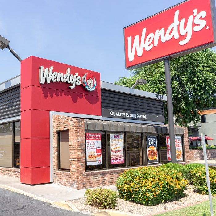 Phoenix,Az,USA -7.30.18; Wendy's is an American international fast food restaurant chain founded by Dave Thomas on November 15, 1969, in Columbus, Ohio.; Shutterstock ID 1151328413; Job (TFH, TOH, RD, BNB, CWM, CM): TOH