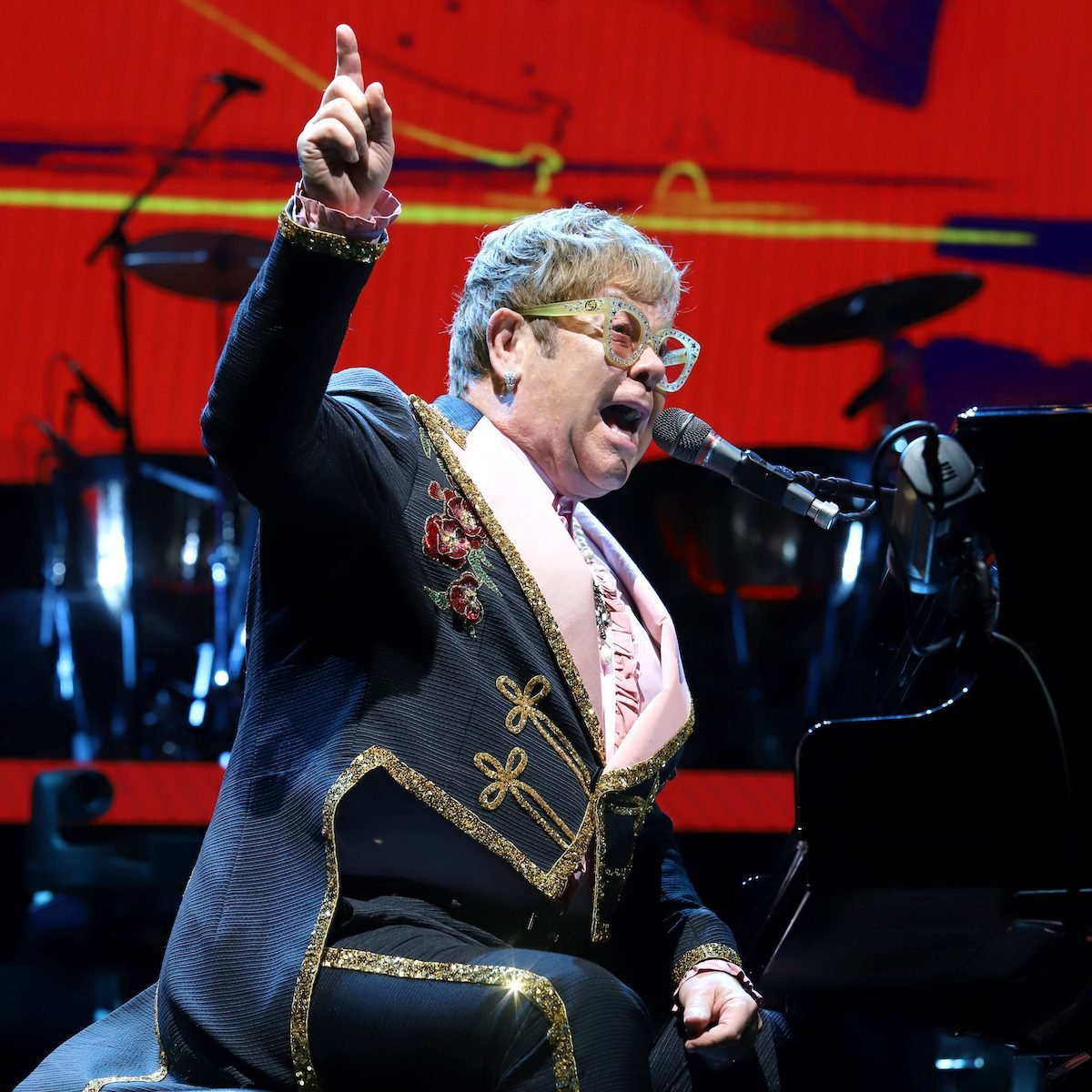 Sir Elton John performs in concert at Madison Square Garden on October 18, 2018 in New York City.