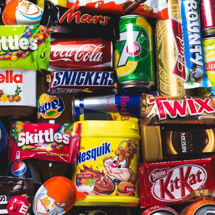 KHERSON, UKRAINE - OCTOBER 30, 2014: Food, supermarket, sugars.; Shutterstock ID 273975992; Job (TFH, TOH, RD, BNB, CWM, CM): Taste of Home
