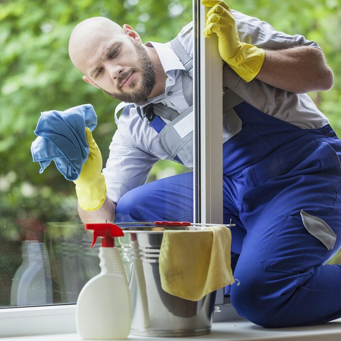 Window cleaning.; Shutterstock ID 452243887; Job (TFH, TOH, RD, BNB, CWM, CM): Taste of Home