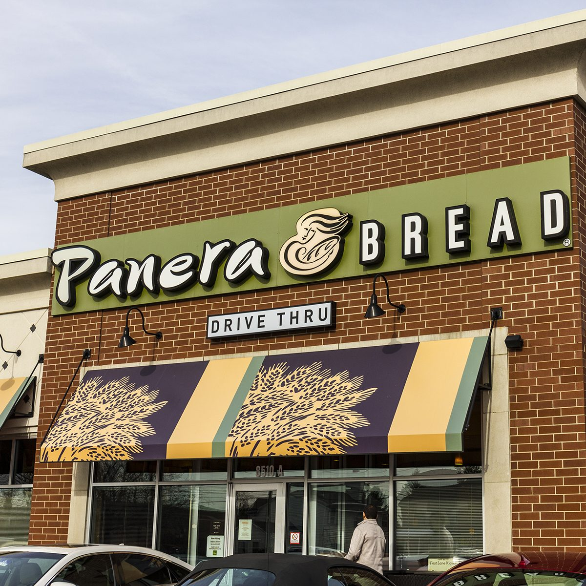 Indianapolis - Circa December 2016: Panera Bread Retail Location. Panera is a Chain of Fast Casual Restaurants Offering Free WiFi V; Shutterstock ID 541311784
