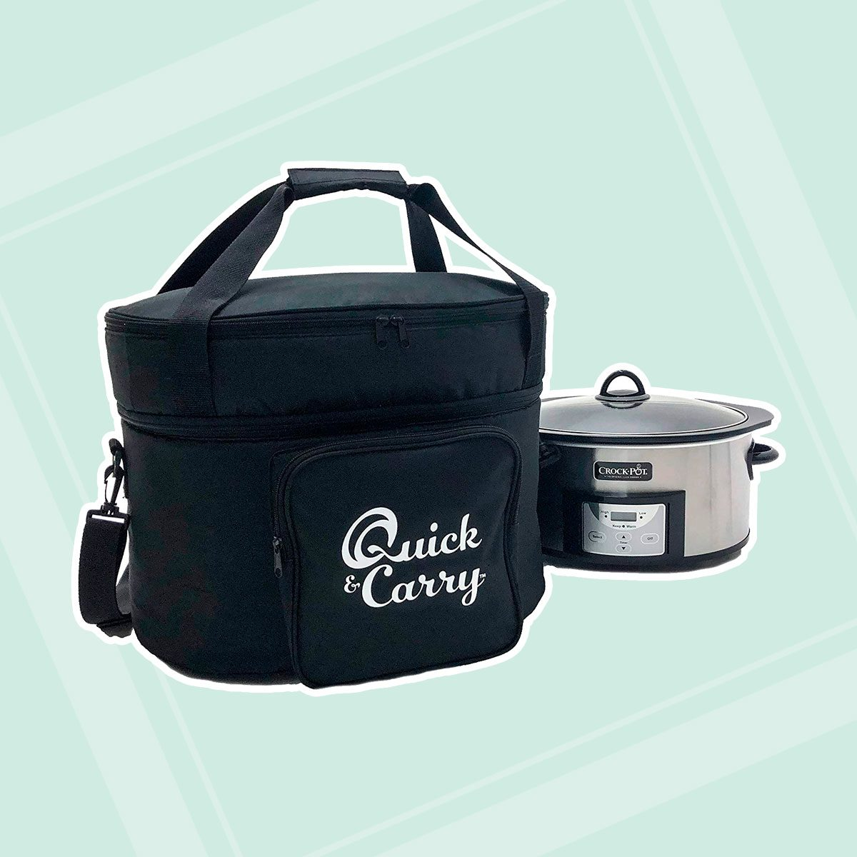 Quick & Carry Slow Cooker Travel Tote Bag