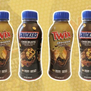 snickers and twix milk