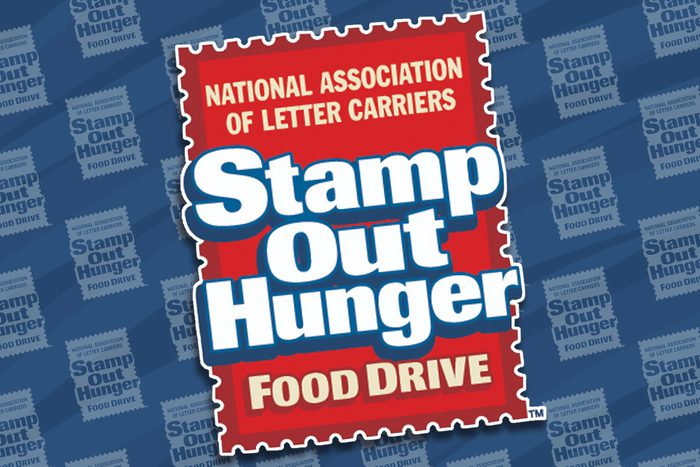 stamp out hunger food drive logo feature image