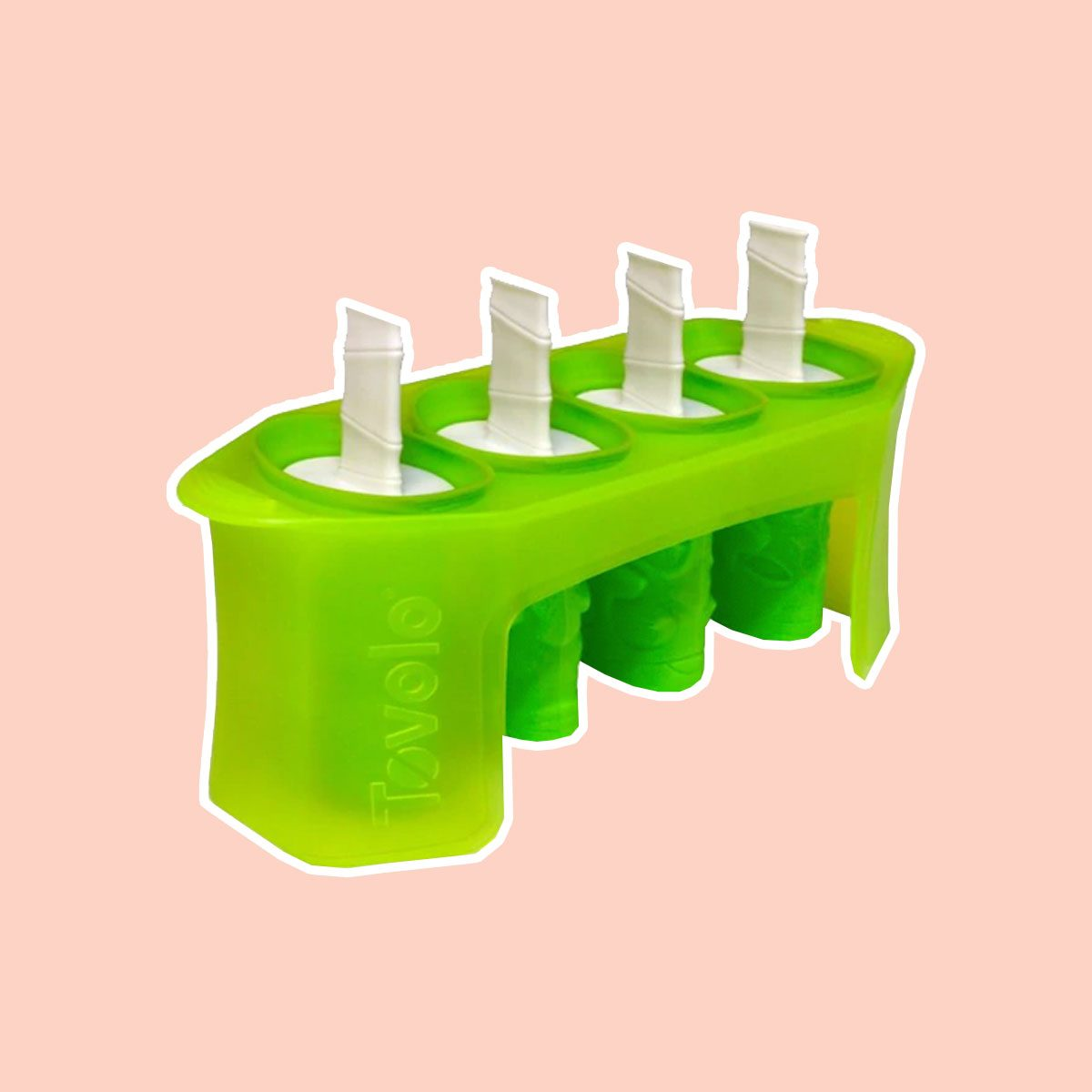 Tovolo® Tiki Pop Molds in Green