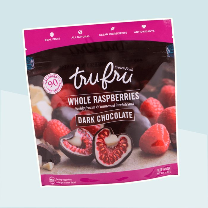 tru fru frozen raspberries
