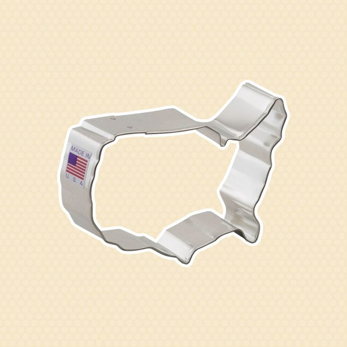 Ann Clark USA Map Cookie Cutter - 4 Inches - Tin Plated Steel