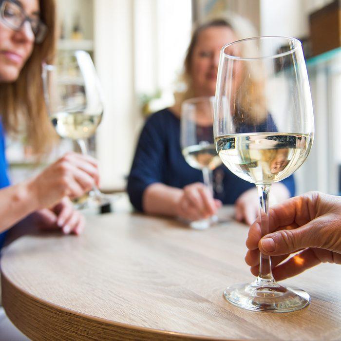 Wine, friends