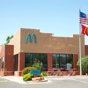 The Surprising Reason One McDonald's Uses Turquoise Arches
