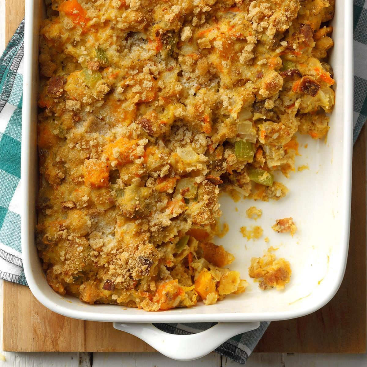 Apple, Butternut and Sausage Dressing