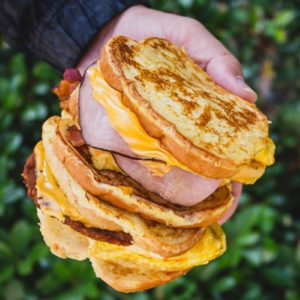 Burger King's New Breakfast Sandwiches Use French Toast As The Bun