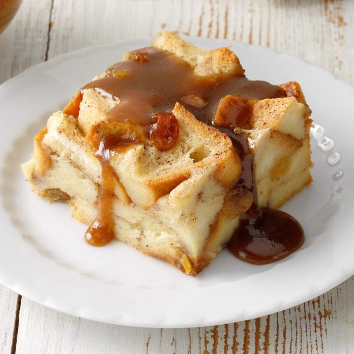 Bread Pudding with Sauce
