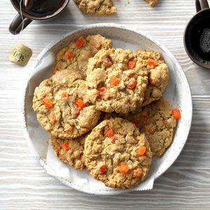 Coconut Orange Slice Cookies