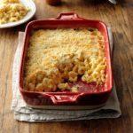 Crunchy White Baked Macaroni & Cheese