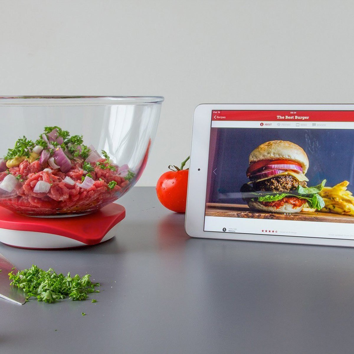 Digital-kitchen-scale-with-app