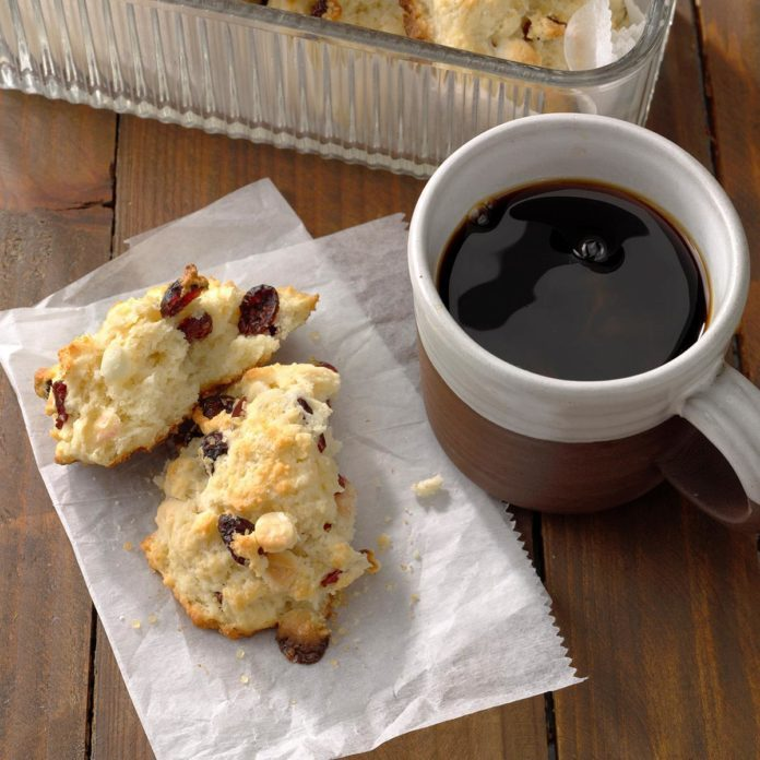 Dried Cranberry Scones