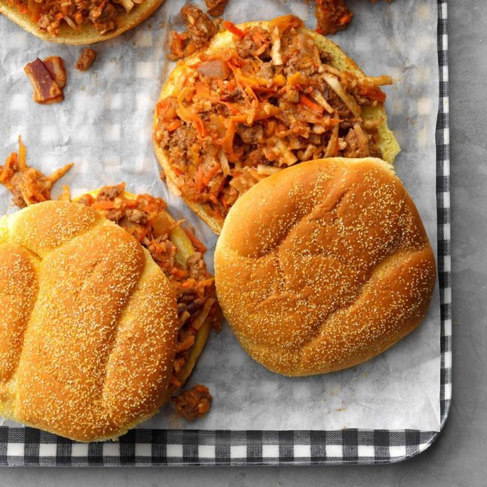 Fall Vegetable Sloppy Joes