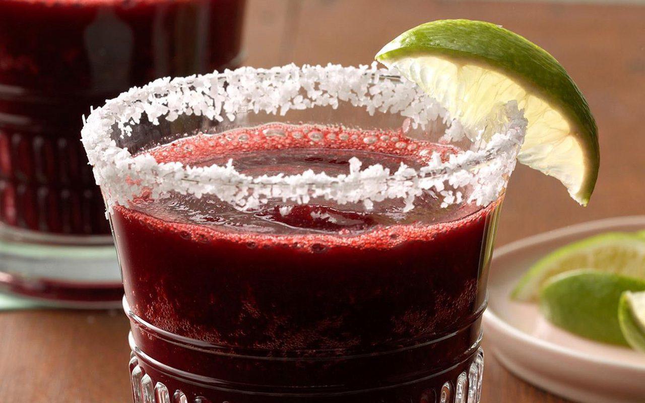 Frozen Cherry Margaritas