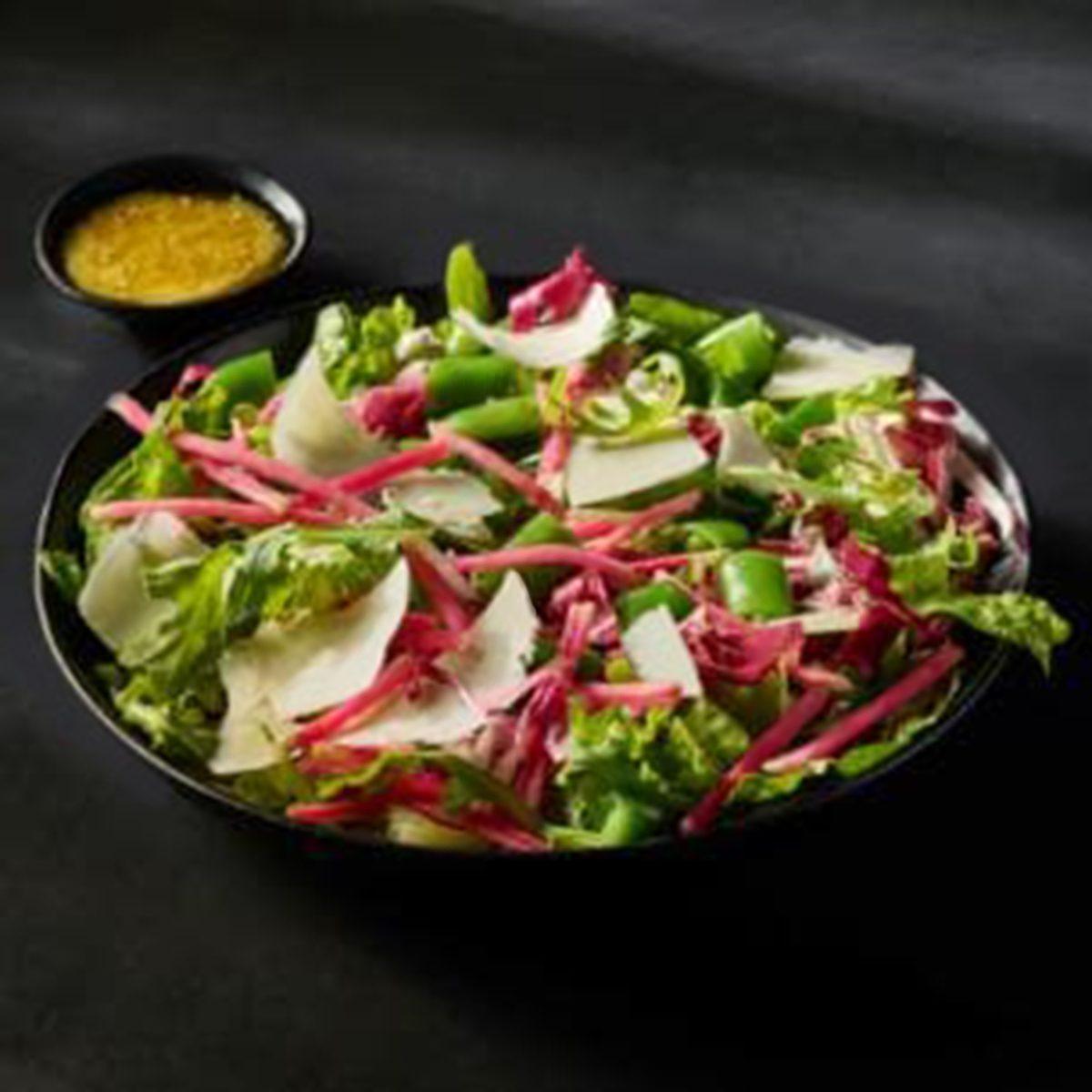Garden Greens & Shaved Parmesan Side Salad