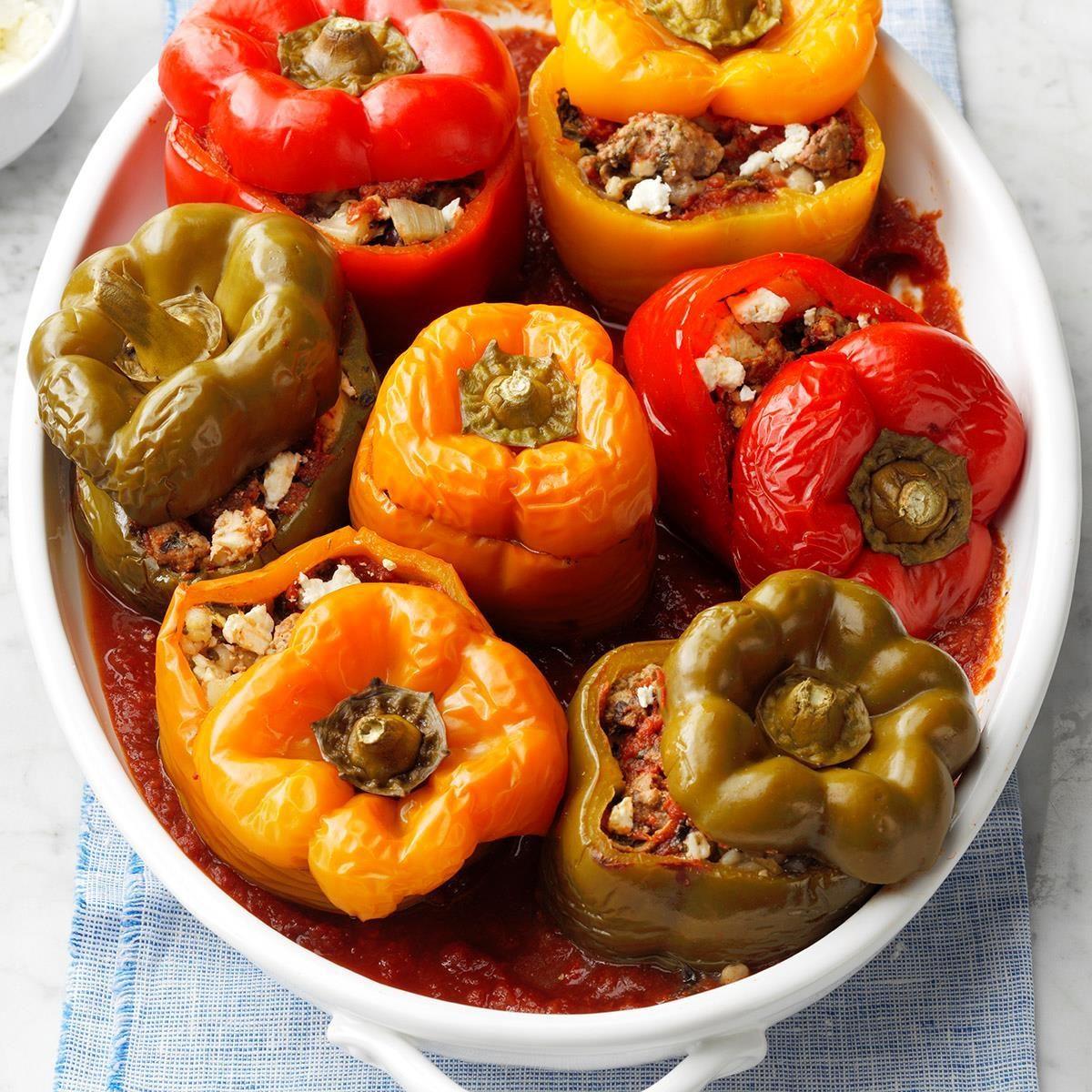 Greek-Style Stuffed Peppers