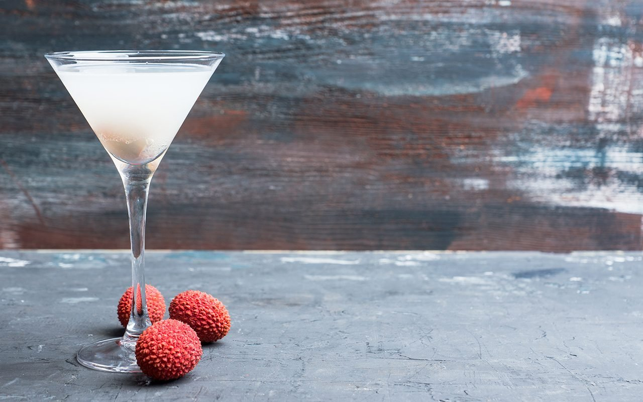 This Is Our Favorite Lychee Martini Recipe