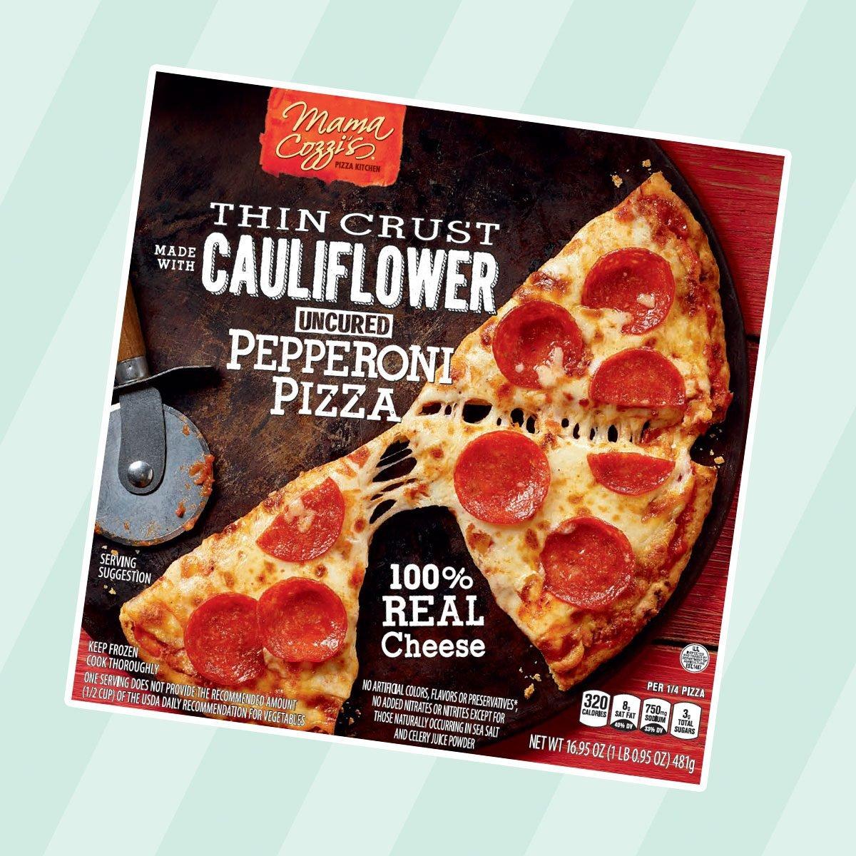 Cauliflower Crust Frozen Pizza