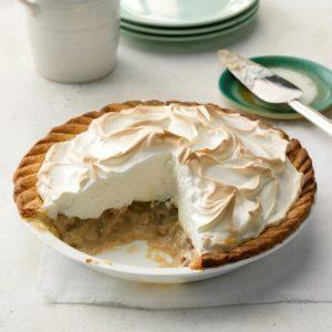 Meringue-Topped Pecan Custard Pie