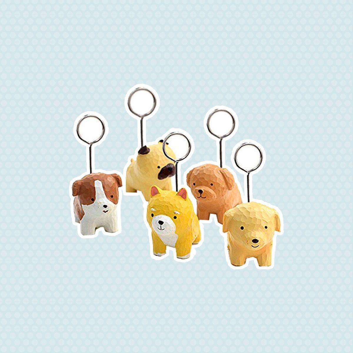 Mini Dog Place Card Holders