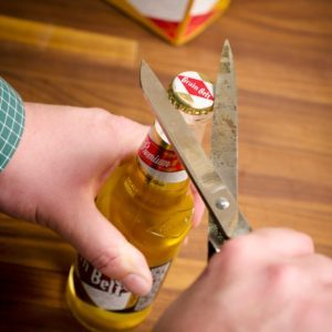 10 Different Ways to Open a Beer Bottle without a Bottle Opener