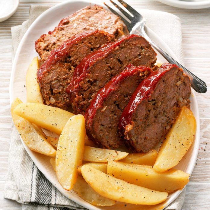 Peppered Meat Loaf