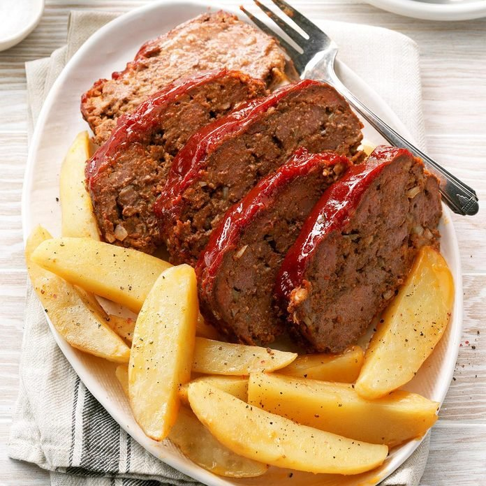Peppered Meat Loaf Recipe How To Make It Taste Of Home
