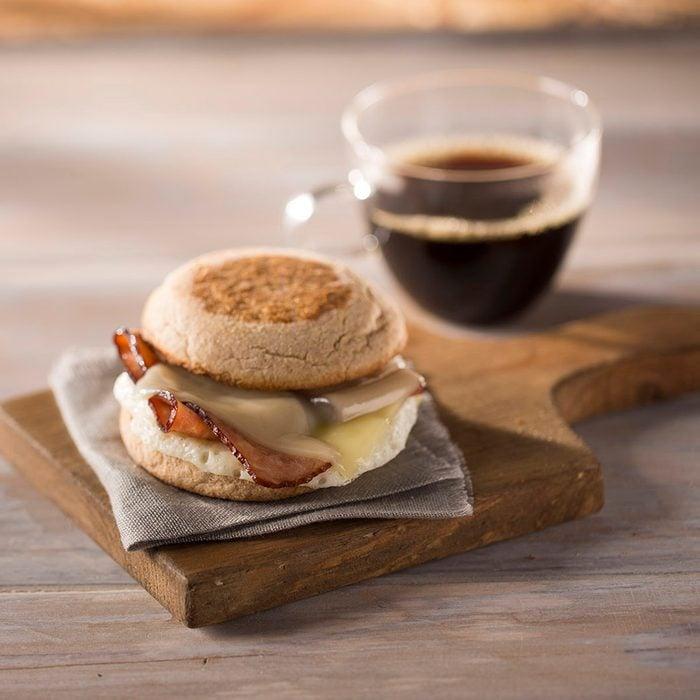 Turkey Bacon and Egg White Breakfast Sandwich (no bun)