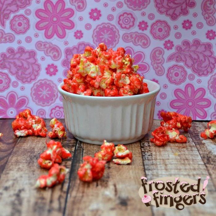 Pink Minnie popcorn
