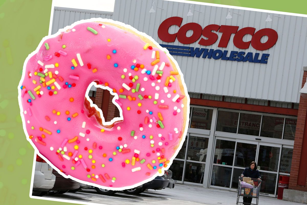 costco giant doughnuts