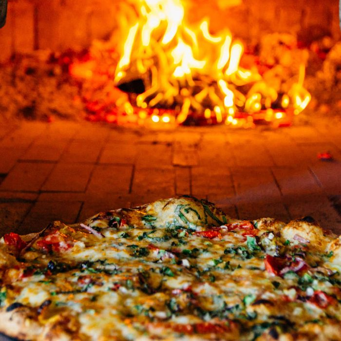 a to z pizza in oven