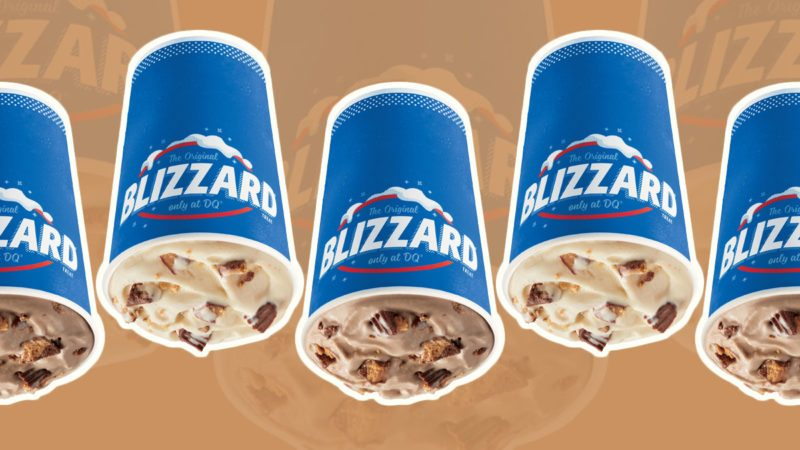 dairy queen reese's blizzard