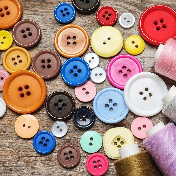 Buttons and threads