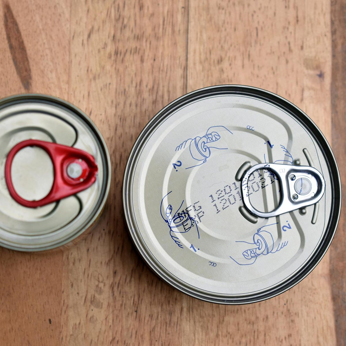 Sell-by date on can