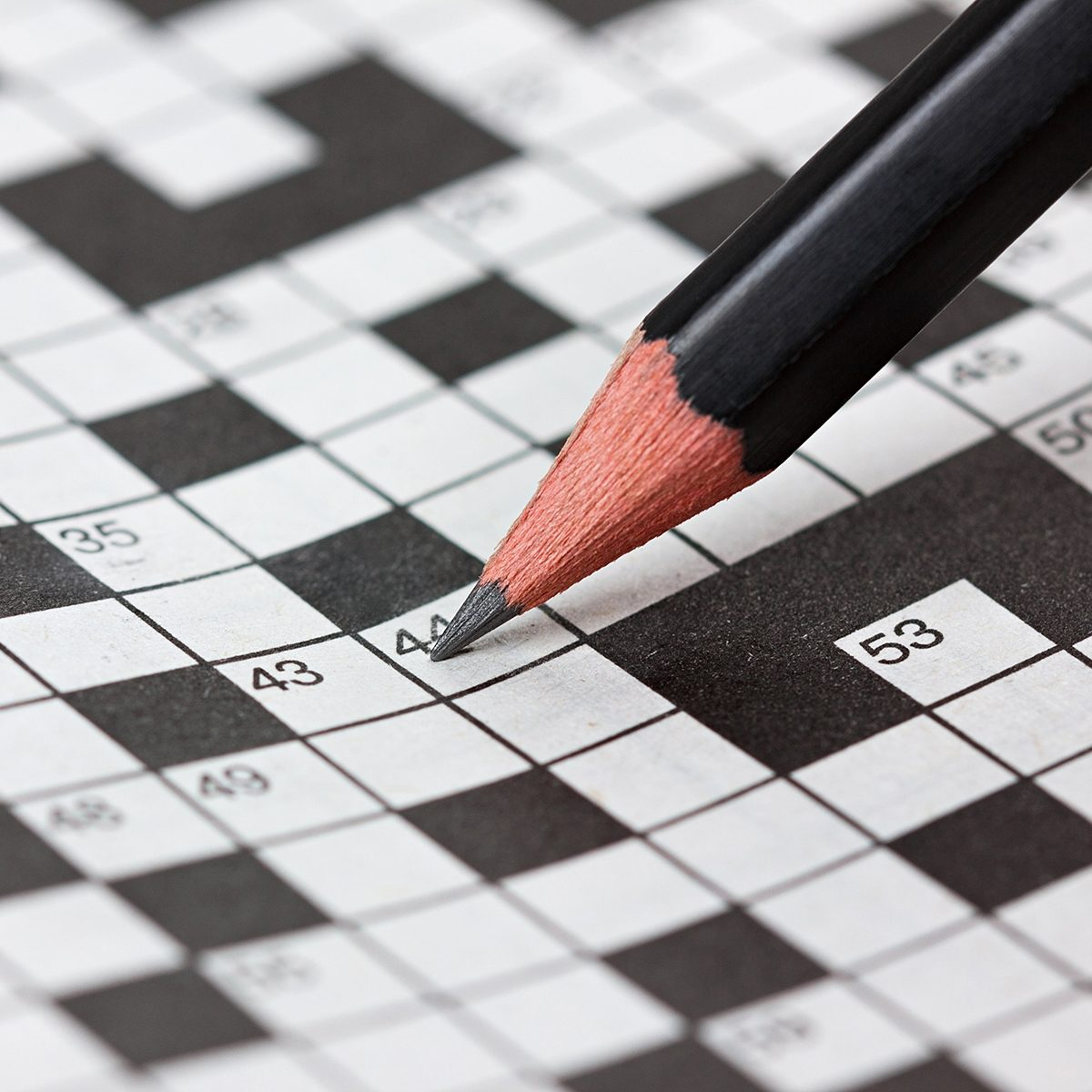 Filling out a crossword
