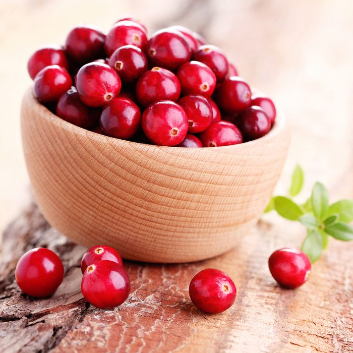 fresh and delicious cranberries - fruits and vegetables