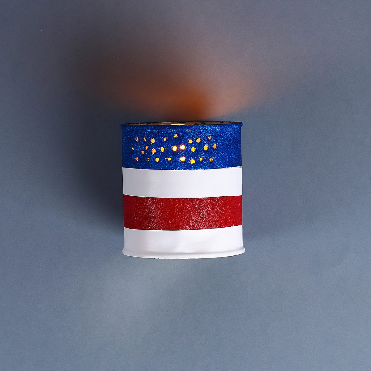 10 Diy 4th of July tin can candlestick