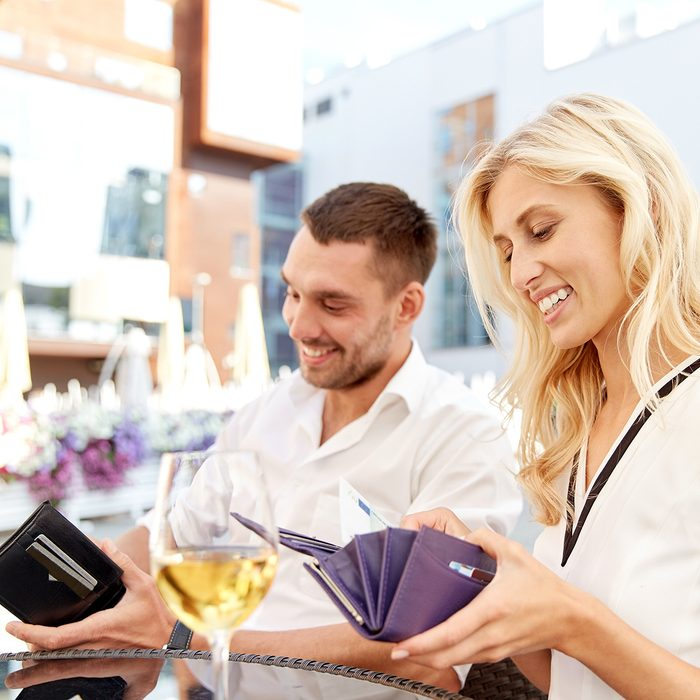 date, people, payment and finances concept